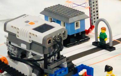 Abschluss der Roboter-AG: Roboter trotzen den Naturgewalten