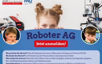 Roboter-AG startet wieder