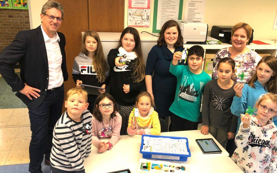 mach MINT mit Fonds: Lego Sets für Albert-Schweitzer-Schule