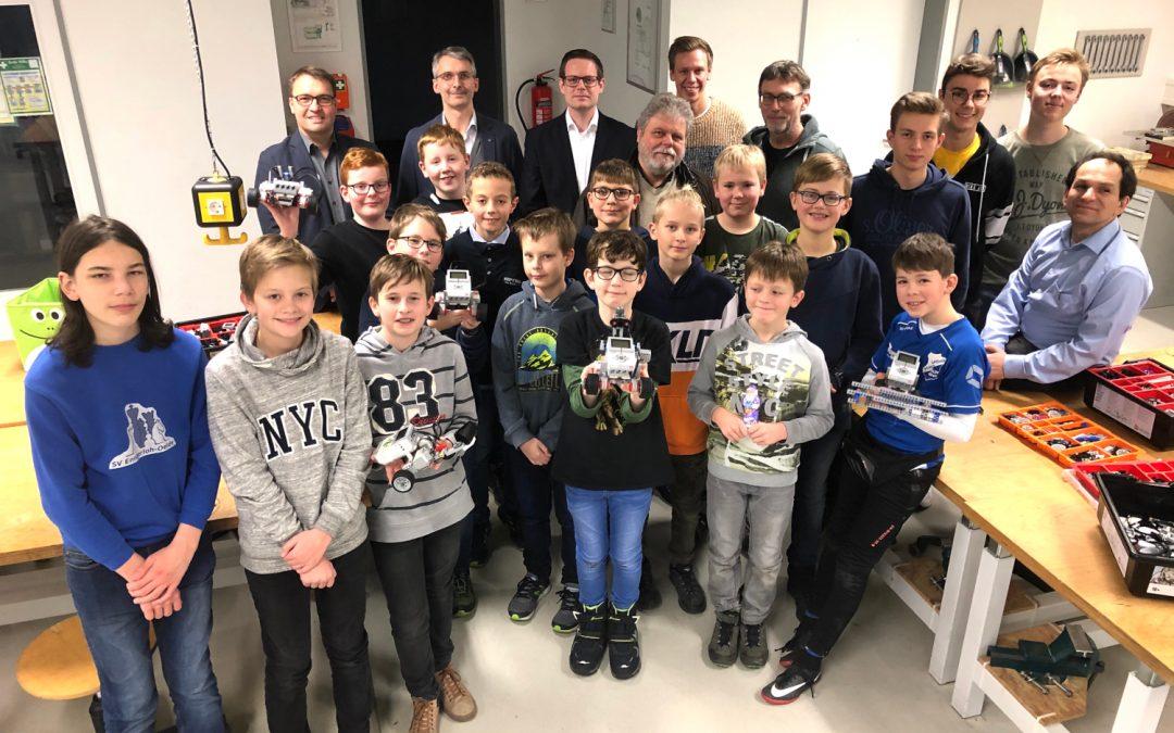 Roboter AG: Mit den neuen Lego Mindstorm Sets macht Programmieren gleich doppelt Spaß