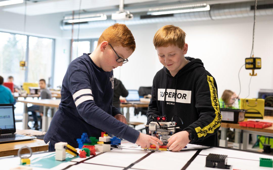 Herbstferien: Robotik-Kursus für Schülerinnen und Schüler