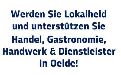 """""""Oelder Lokalheld"""" werden: Gemeinsame Plakataktion"""