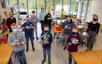 Zweiter erfolgreicher zdi-Ferien-Robotik-Kurs